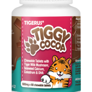 TIGERUS® TIGGY Cocoa Chewable Tablets