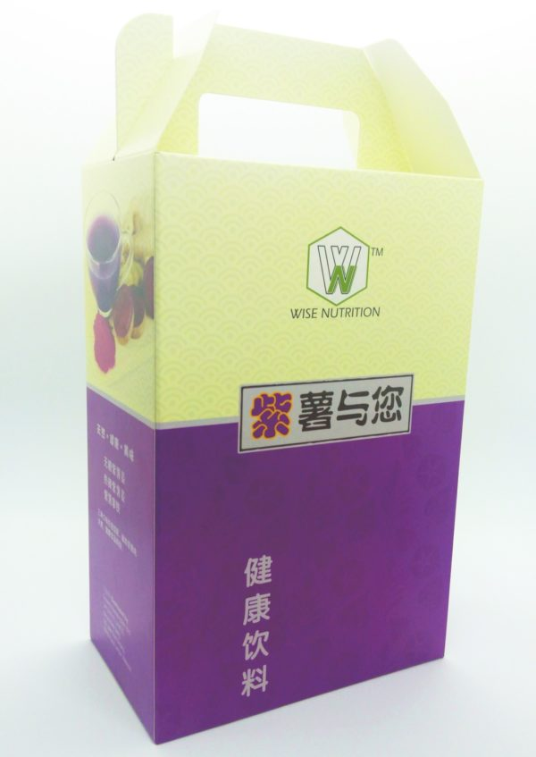 Wise Nutrition Purple Sweet Potato Package Gift Box